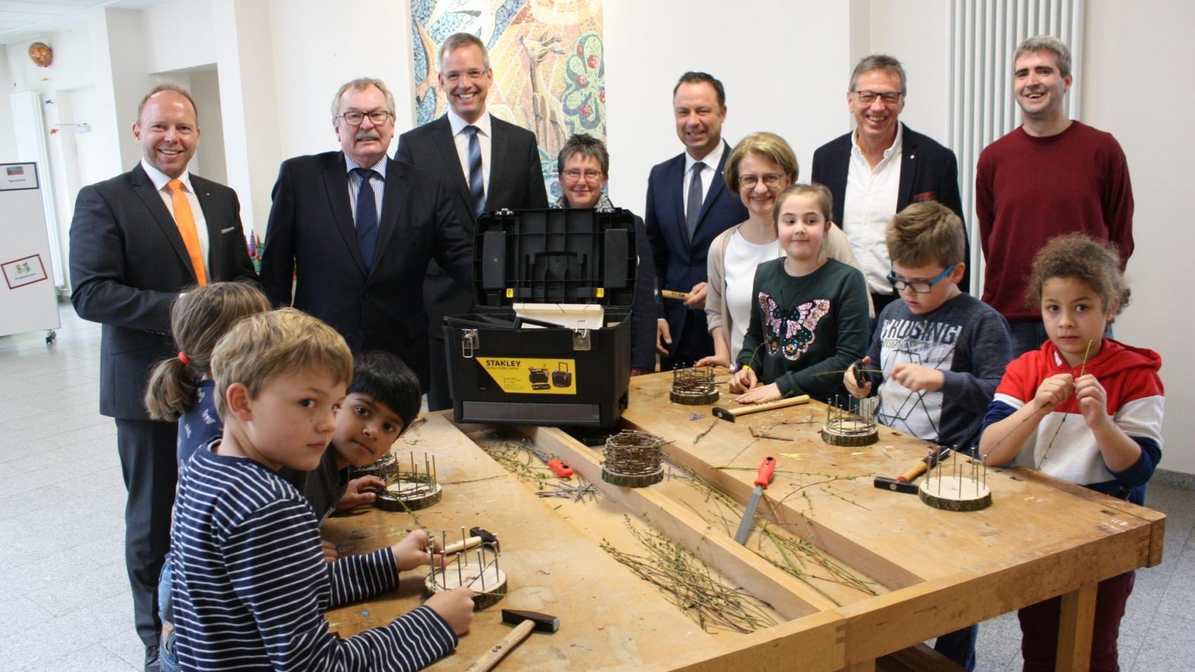 Volkbank - Werkzeugkasten